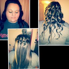 I totally want to do this with my hair!