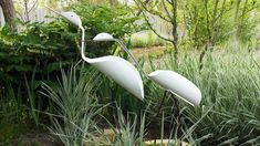 Birds from plastic pipes (PVC) with their own hands. Crafts for a summer...