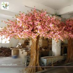 Quality Wedding Decoration Trees manufacturers & exporter - buy UVG Artificial Tree with Flower Big pink sakura trees for home garden decoration from China manufacturer. Barn Wedding Decorations, Backdrop Decorations, Backdrops, Artificial Tree, Cherry Blossom Tree, Cute Home Decor, In The Tree, Tree Art, Japanese Sauna