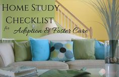 Home Study Checklist for Adoption and Foster Care - Arbeitszimmer Zuhause Home Study Adoption, Open Adoption, Foster Care Adoption, Foster To Adopt, Adoption Information, Adoption Options, Foster Baby, Foster Mom, Foster Family