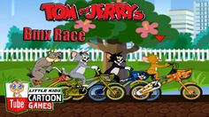 Tom and Jerry 2017 Games \ Tom And Jerry - Racing on bicycles \ Baby Gam...