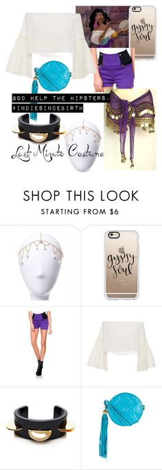 """Hipster Princess Esmeralda"" by jkat598 on Polyvore featuring Casetify, Stanzino, Rosetta Getty, MM6 Maison Margiela and Chanel"
