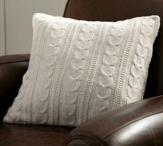 Pottery Barn Cable Knit Pillow Cover on sale right now for $10.99! Love this thing, it is so comfy too!