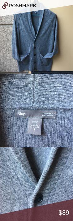 Gap men's cashmere cardigan Gap men's cashmere cardigan, size S, worn 3 times, good condition. GAP Sweaters Cardigan
