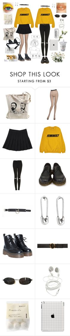 """jell-o"" by shamsyart ❤ liked on Polyvore featuring La Perla, Topshop, Dr. Martens, Disney Couture, STELLA McCARTNEY, Tom Ford and Chantal Thomass"