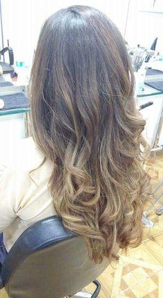 #color #balayage #barridos #colour #gold #brown #hair