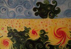 Dipinti ad olio: Girasoli