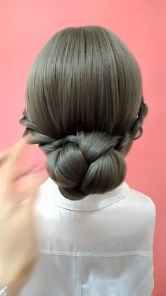 Easy Hairstyles For Long Hair, Braided Hairstyles, Wedding Hairstyles, Braided Locs, Curly Hair Styles, Natural Hair Styles, Hair Upstyles, Hair Videos, Hairstyles Videos