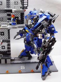 "TMF-01 Toromekian Blue | My original Mech(Robo) ""Toromekian … | Flickr"
