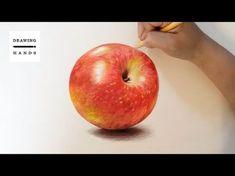 [기초수채화] 사과수채화 '홍로' 그리기 - YouTube