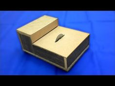Mini Mitre caja muñeca casa miniatura hágalo usted mismo vio De Corte De Fundicion