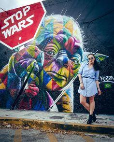 STOP WARS. #miami #wynwood #artdistrict #yoda #stopwars #ootd #blogpost #tourist #streetstyle