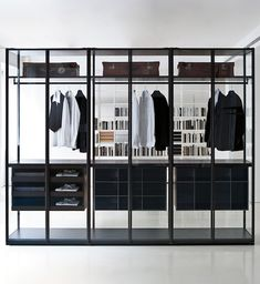 glass closets