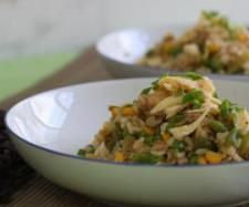 Recipe Steamed Coconut Rice Salad (Cyndi O'Meara handout) by Thermomix in Australia - Recipe of category Pasta & rice dishes Thermomix Recipes Healthy, Cooking Recipes, Risotto Recipes, Salad Recipes, Rice Dishes, Food Dishes, Rice Salad, Coconut Rice, Asian Cooking