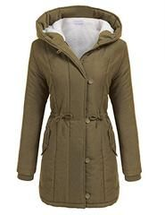 XUANOU Ladies Warm Artificial Wool Coat Zipper Jacket Winter Parka Outerwear Solid Color Patchwork Windbreaker Oversize