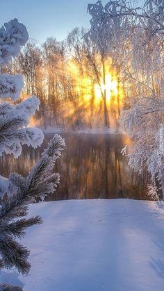 Beautiful Photos Of Nature, Nature Images, Nature Photos, Amazing Nature, Winter Photography, Landscape Photography, Nature Photography, Winter Sunset, Winter Scenery