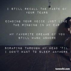 Nine Inch Nails - Something I Can Never Have #NineInchNails #song #lyrics