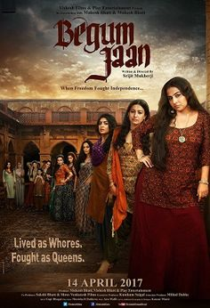 The new poster of Vidya Balan's Begum Jaan is as fierce and badass as the previous one. - Begum Jaan Poster: Vidya Balan introduces her family with a very powerful tag line