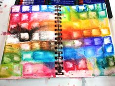 water soluble crayon *play*