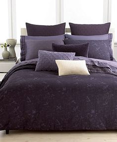 Vera Wang Bedding, Violet Collection