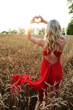 Chantel Dirksen Photography - wheat field at sunset