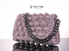 WEBSTA @ one_and_only_irinipapadopoulou - Bubble shiny shoulder bag Dare to be different!#bubblebag #handmade #crochet #oneofakind #oneandonly #oneandonlyhandmade #woman #luxury #stylish #elegant #chic #fashionbag #unique#shiny #sparkle #itbag #like4likes #instapic #fashionworld #fashionstyle #photography