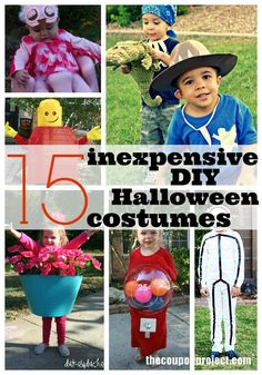 DIY Frugal Halloween Costumes | The Coupon Project. #Halloween #kids #costumes
