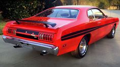 The Original 1971 Dodge Demon 340 In Factory Hemi Orange
