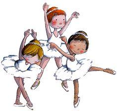 Tres ballarines ❥Teresa Restegui http://www.pinterest.com/teretegui/❥