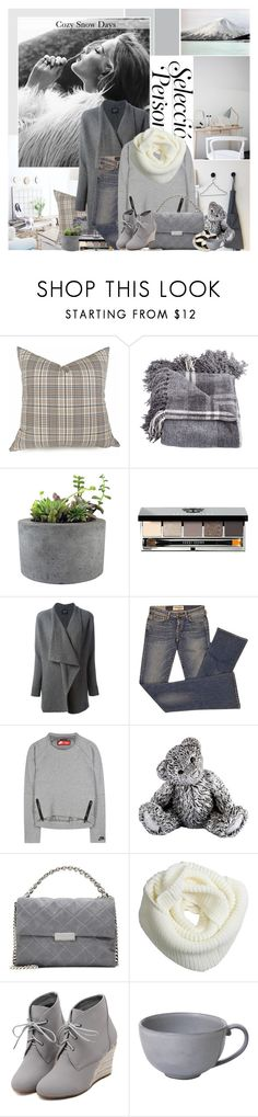 """Cozy Snow Days"" by giko-is-giantsister ❤ liked on Polyvore featuring Disney, Rough Fusion, Bobbi Brown Cosmetics, Lanvin, Elizabeth and James, NIKE, Royal Selangor, STELLA McCARTNEY, WithChic and Juliska"