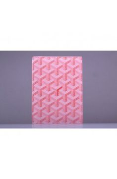Goyard Passport Case Pink