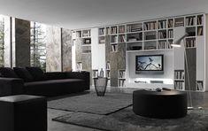 Pari&Dispari Comp 332 – obývací stěna