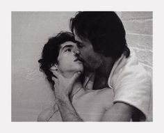 robert mapplethorpe, untitled (charles and jim), 1973 // keanu reeves and carl marotte, wolfboy Robert Mapplethorpe Photography, Poses, Still Life Images, Gay Aesthetic, Cute Gay Couples, Celebrity Portraits, Gay Art, Keanu Reeves, Pose Reference