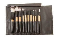 Antonym Cosmetics Professional 11 Brush Set by Antonym Cosmetics. $165.00. developed By Makeup Artists. super Soft And Luxurious Bristles. professional quality makeup brushes. eco friendly and cruelty free materials. powder, contour, foundation, concealer, large eye shader, medium angled shading, large pencil, Blending, small eye shader, small angled, mascara/brow and pouch.