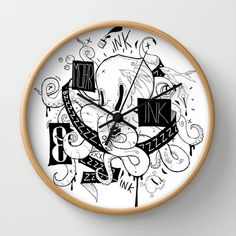 Oktopus Wall Clock by Bishok - $30.00