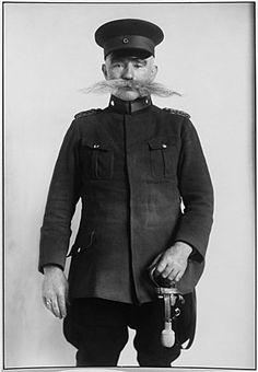 Police Sergeant, German, 1926 by August Sander
