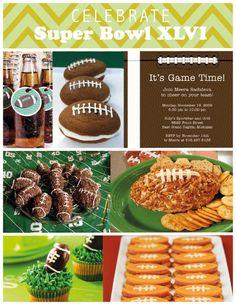 More Super Bowl Party Ideas!
