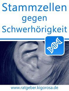 Stammzellen gegen Schwerhörigkeit - Hörverlust Diabetes, Movies, Movie Posters, Regenerative Medicine, Inner Ear, Umbilical Cord, Ears, Films, Film