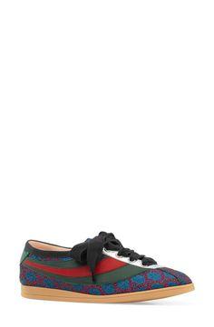 wholesale dealer dd296 34839 Gucci Competition Metallic GG Supreme Sneaker (Women) Nordstrom 640