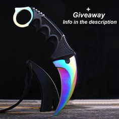 CS:GO Karambit Fade Knife Stainless Steel 18.5 cm by PokeNeeds