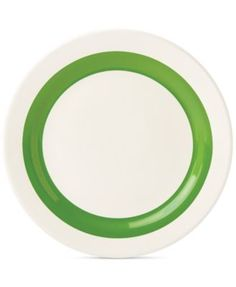 kate spade new york all in good taste Striped Accent Plate, Only at Macy's