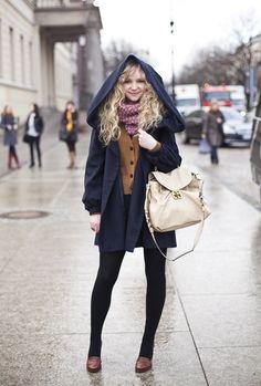 berlin fashion week: hooded
