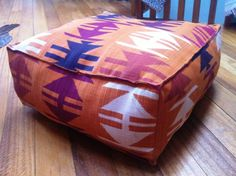 Makes Me Smile » Blog Archive » DIY Floor Pouf  She is funny. And this is awesome.