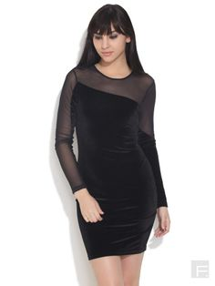 Lets Dazzle // Velvety Vow Dress