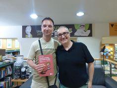 Con Jorge López en la presentación de Vuelve el listo que todo lo sabe en La Casa del libro de Barcelona