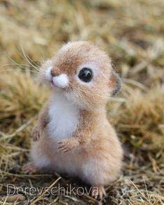 Хомочка Лю́си Милый, нежный, домашний ребёнок. Сделана на заказ. Sold. #hamster #pets #felting #сувенир #сухоеваляние #валянаяигрушка #игрушкаизшерсти #авторскаяигрушка #хомяки #хомяк