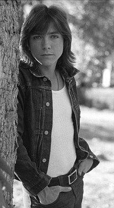 "David Cassidy from ""The Partridge Family"". The best part of the weekly show was when the family sang."