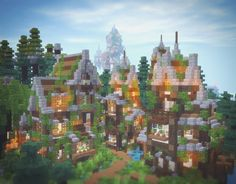 Minecraft Epic Builds, Minecraft Funny, Minecraft Plans, Amazing Minecraft, Minecraft Blueprints, How To Play Minecraft, Minecraft Stuff, Cool Minecraft Creations, Minecraft Designs