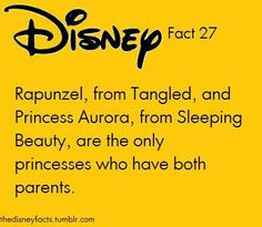 """Well, not exactly! Merida also have both her parents alive, and Moana. And so does Mulan (even though she's technically not a """"princess"""")"""