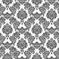 Lieblich 7 440515 Sophie Charlotte Rasch Schwarz Weiß Ornament Vliestapete